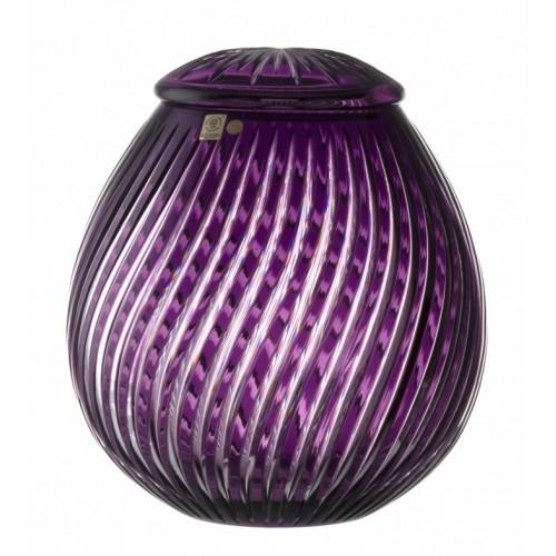 Urna Zita, kolor fioletowy, wielkość 290 mm