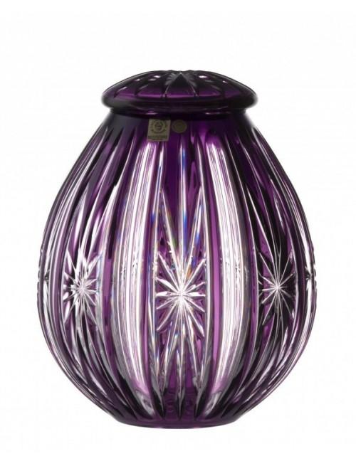 Urna Iskra, kolor fioletowy, wielkość 230 mm