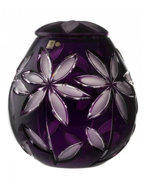 Urna Linda mat, kolor fioletowy, wielkość 290 mm