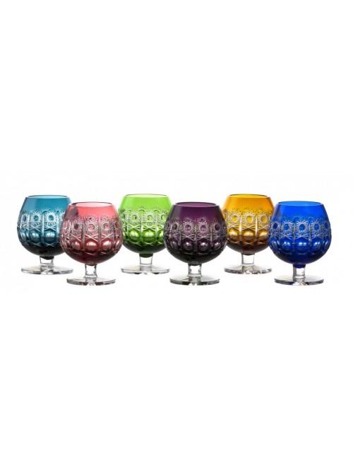 Zestaw kieliszków do brandy Petra, różne kolory, objętość 230 ml