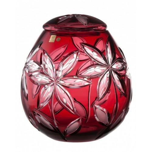 Urna Linda, kolor rubinowy, wielkość 290 mm