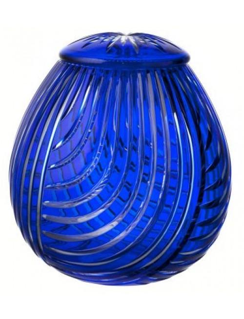 Urna Linum, kolor niebieski, wielkość 290 mm