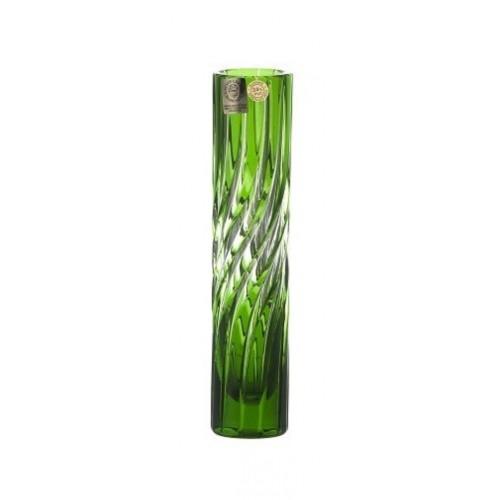 Wazon Zita, kolor zielony, wysokość 180 mm