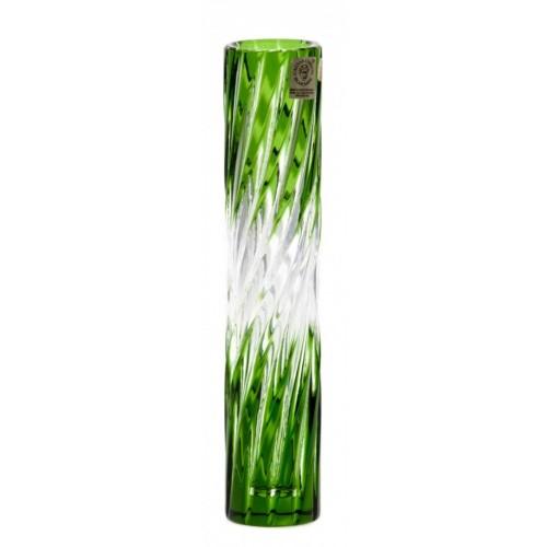 Wazon Zita, kolor zielony, wysokość 205 mm