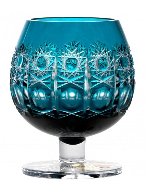 Kieliszek do brandy Petra, kolor turkusowy, objętość 230 ml