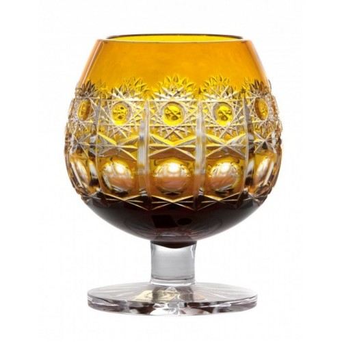 Kieliszek do brandy Petra, kolor bursztynowy, objętość 230 ml