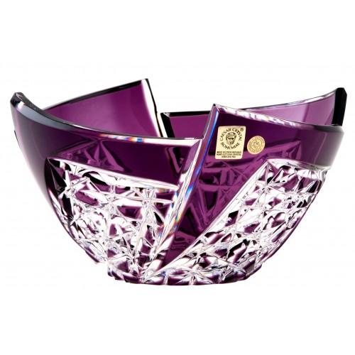 Półmisek Wachlarz, kolor fioletowy, średnica 180 mm