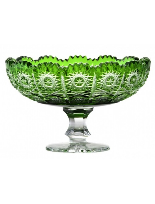 Patera Paula, kolor zielony, średnica 120 mm