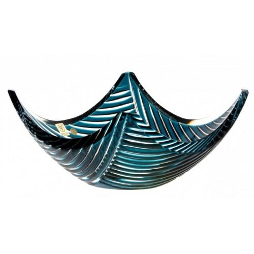 Półmisek Linum, kolor turkusowy, średnica 280 mm