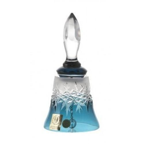 Dzwonek Szron, kolor turkusowy, wysokość 126 mm