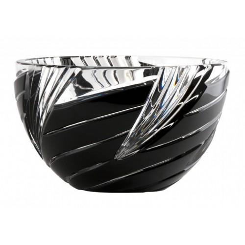 Półmisek Wir, kolor czarny, średnica 150 mm