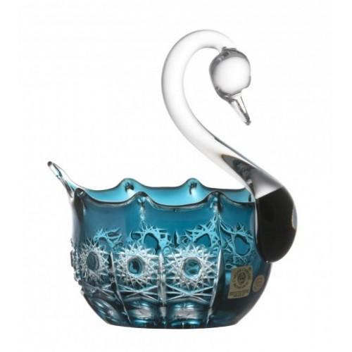 Łabędź Petra, kolor turkusowy, średnica 116 mm