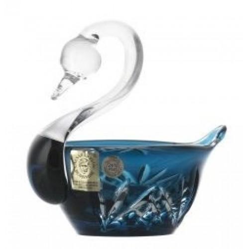 Łabędź Miniature, kolor turkusowy, średnica 100 mm