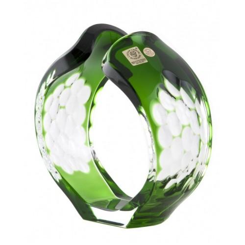 Świecznik Sírius, kolor zielony, wysokość 165 mm