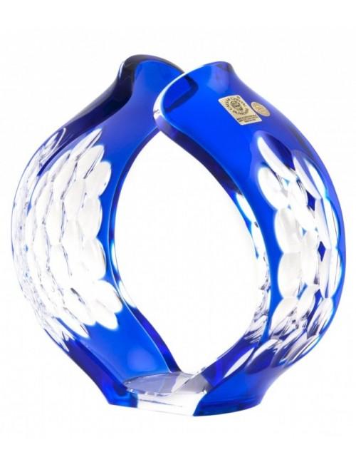 Świecznik Syriusz, kolor niebieski, wysokość 165 mm