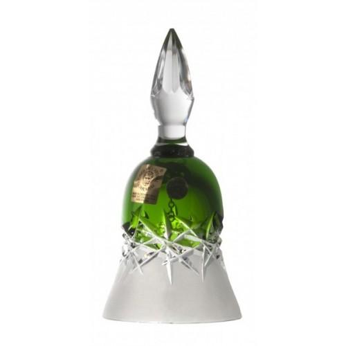 Dzwonek Szron, kolor zielony, wysokość 126 mm