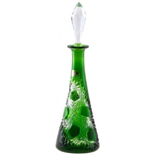 Butelka Mróz, kolor zielony, objętość 750 ml