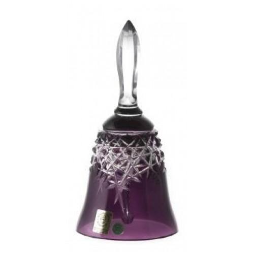 Dzwonek Milenium, kolor fioletowy, wysokość 165 mm