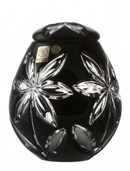 Urna Linda, kolor czarny, wielkość 145 mm