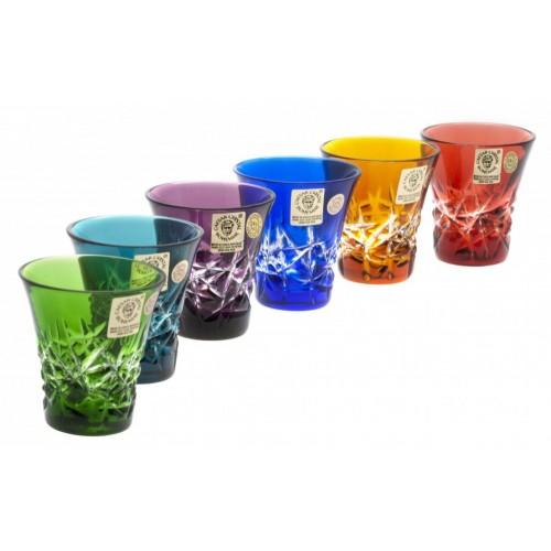 Zestaw likierówek Szron, różne kolory, objętość 45 ml