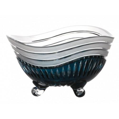 Półmisek Wydma, kolor turkusowy, średnica 235 mm