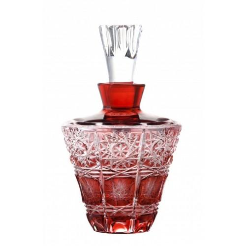 Flakon Paula, kolor rubinowy, objętość 170 ml