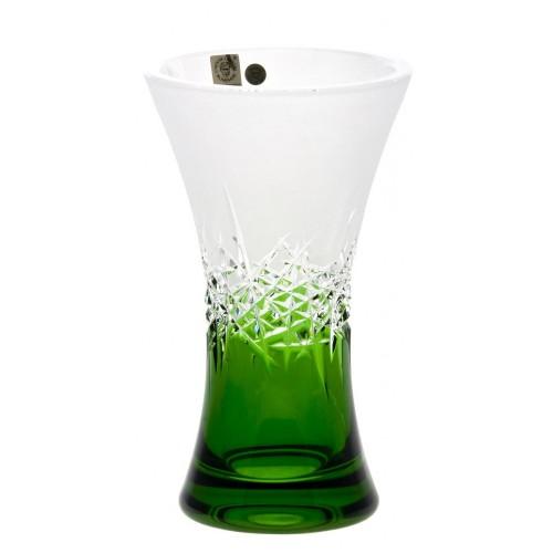 Wazon Szron, kolor zielony, wysokość 205 mm