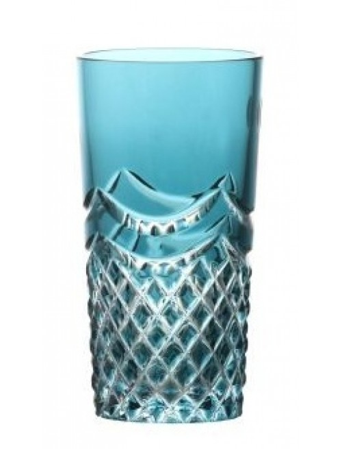 Szklanka Quadrus, kolor turkusowy, objętość 100 ml