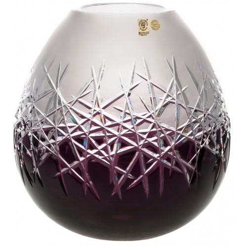 Wazon Szron, kolor fioletowy, wysokość 280 mm