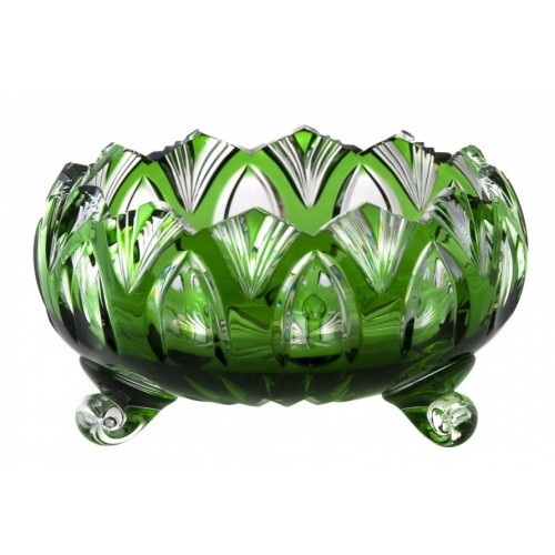 Półmisek Lotos, kolor zielony, średnica 155 mm