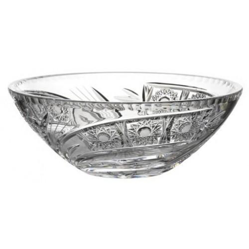 Półmisek Kometa, szkło kryształowe bezbarwne, średnica 230 mm