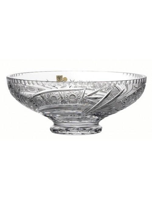 Półmisek Kometa, szkło kryształowe bezbarwne, średnica 305 mm