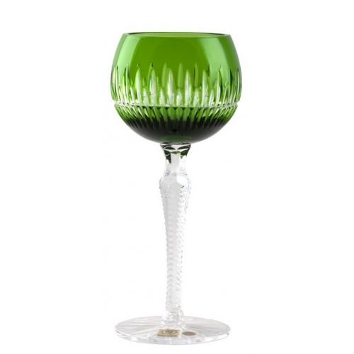 Kieliszek do wina Cierń, kolor zielony, objętość 190 ml