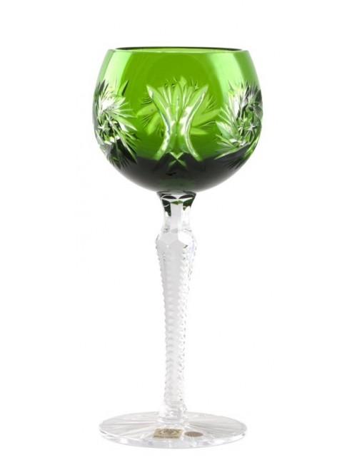 Kieliszek do wina Wiatraczek, kolor zielony, objętość 190 ml