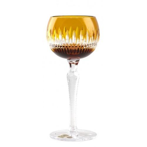 Kieliszek do wina Cierń, kolor bursztynowy, objętość 190 ml