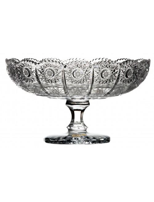 Patera 500PK, Szkło kryształowe bezbarwne, średnica 255 mm
