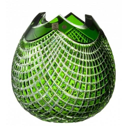 Wazon Quadrus, kolor zielony, wysokość 250 mm