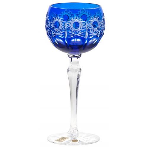 Kieliszek do wina Petra, kolor niebieski, objętość 190 ml