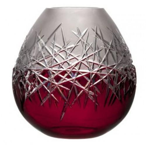 Wazon Szron, kolor rubinowy, wysokość 280 mm