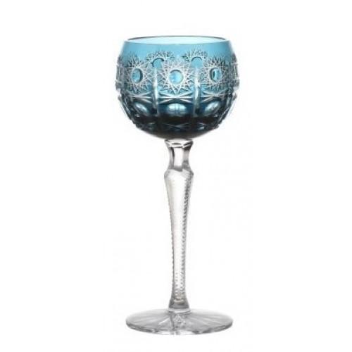 Kieliszek do wina Petra, kolor turkusowy, objętość 190 ml