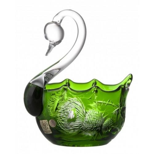 Łabędź Oset, kolor zielony, średnica 116 mm