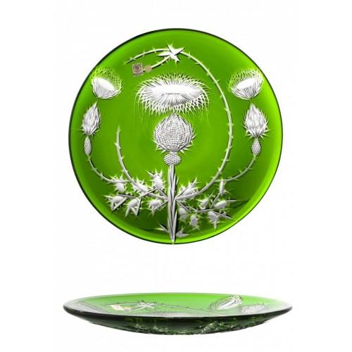 Talerz Oset, kolor zielony, średnica 300 mm
