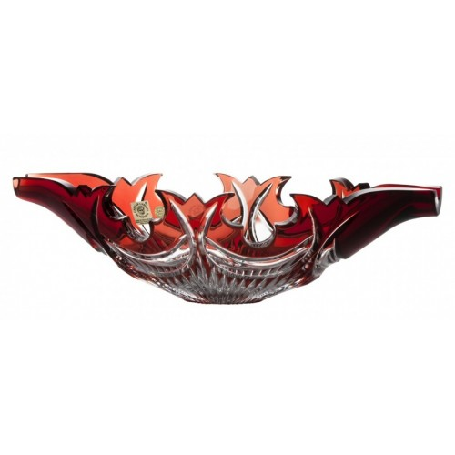 Półmisek Diadem, kolor rubinowy, średnica 300 mm