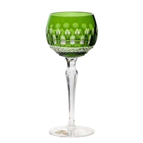 Kieliszek do wina Tomy, kolor zielony, objętość 190 ml
