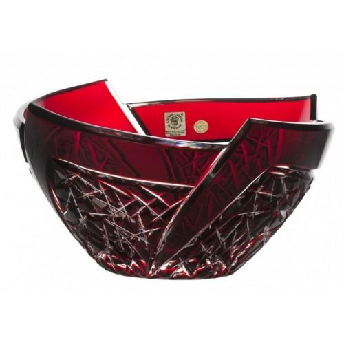 Półmisek Wachlarz, kolor rubinowy, średnica 225 mm