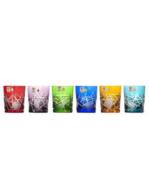 Zestaw kieliszków do whisky Mars, różne kolory, objętość 290 ml