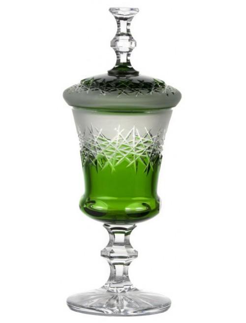 Puchar Szron, kolor zielony, wysokość 395 mm