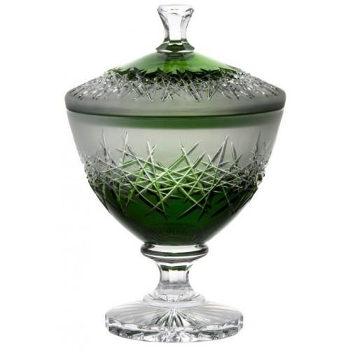 Bomboniera Szron, kolor zielony, wysokość 260 mm