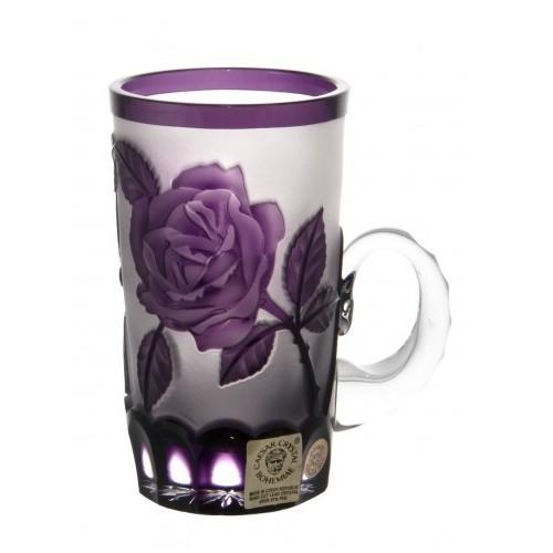 Kubek Róża, kolor fioletowy, objętość 100 ml