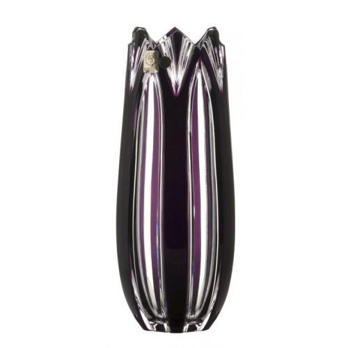 Wazon Lotos, kolor fioletowy, wysokość 250 mm